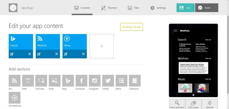 App Studio Diupdate, Kini Ia Mendukung Store Windows 10