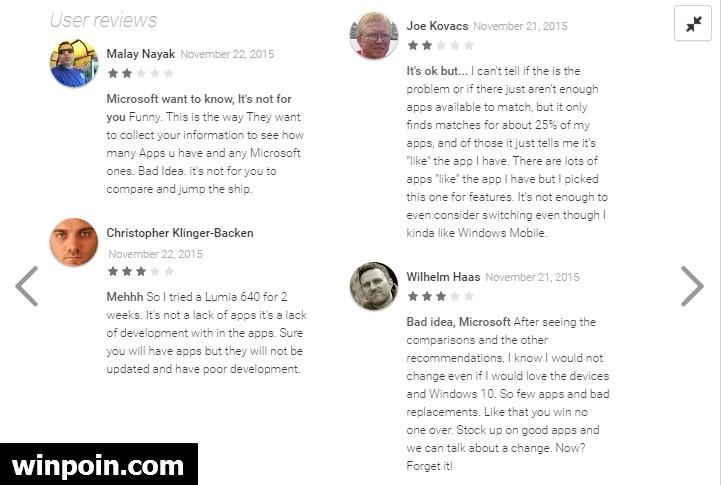 Microsoft Merilis AppComparison untuk Menemukan Alternatif Apps Android Favorit Kamu di Windows Phone