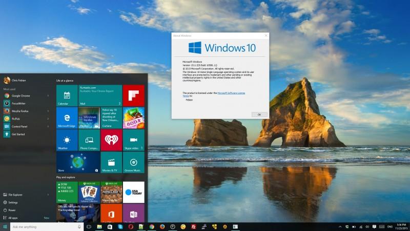 File ISO Windows 10 November Update Ditarik Karena Menyebabkan Enkripsi BitLocker Error?