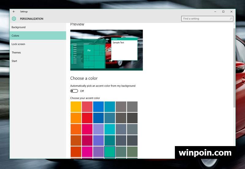 Cara Menghilangkan Wallpaper Windows di Login Screen Windows 10