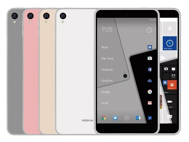Inilah Nokia C1, The Next Smartphone Nokia dengan Pilihan OS Android & Windows 10 Mobile