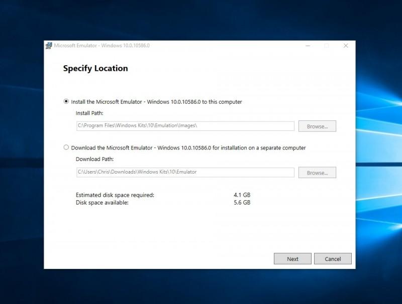 """Emulator Windows 10 Mobile """"Final"""" Dirilis, Download Disini!"""