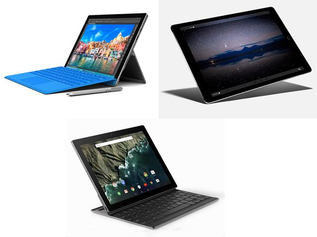 Surface, iPad, Pixel