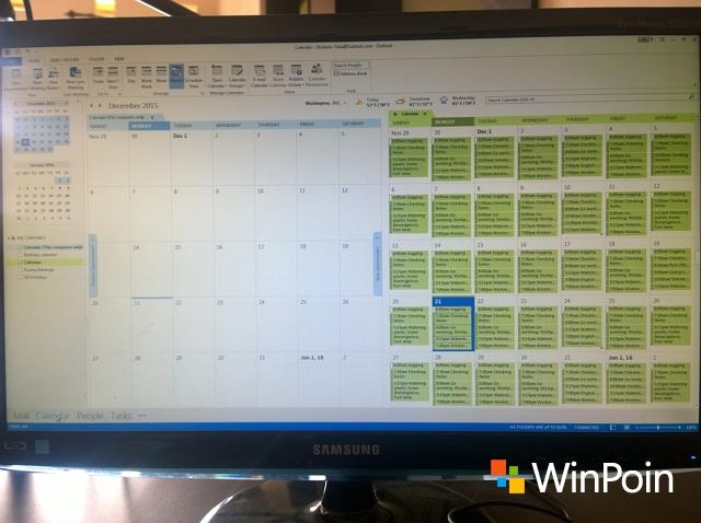 Mengoptimalkan Kalender