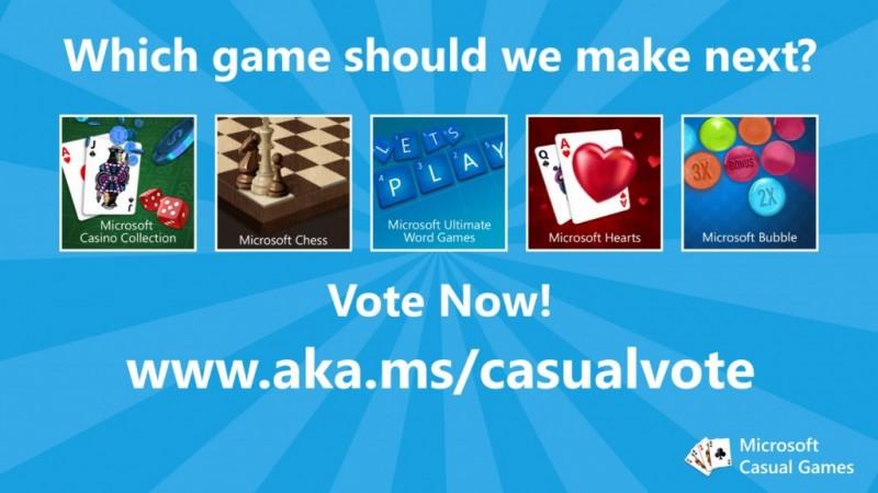Next Casual game Microsoft