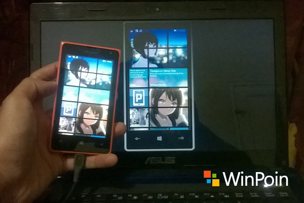 Menerima Windows Phone