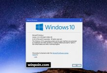 Kumulatif Update Windows 10