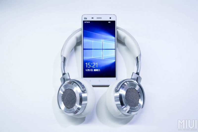 Xiaomimi4-lte-windows10