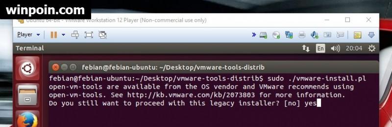 Cara Install Ubuntu Linux di VMware