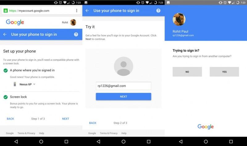 Sebentar Lagi Kamu Bisa Login ke Google Account Menggunakan Smartphone, Tanpa Perlu Password!
