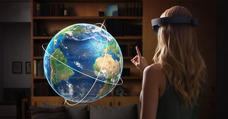 Seperti Inilah Hologram Hasil dari HoloLens, yang Dulu Hanya Di Film Sekarang Jadi Kenyataan