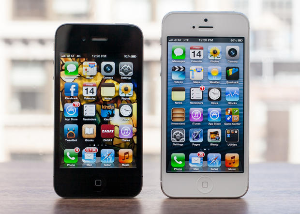 iphone 4 and 5