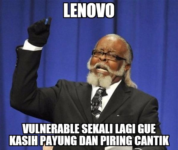 Lagi: Lenovo, Dell, dan Toshiba Menyertakan Bundleware yang Vulnerable