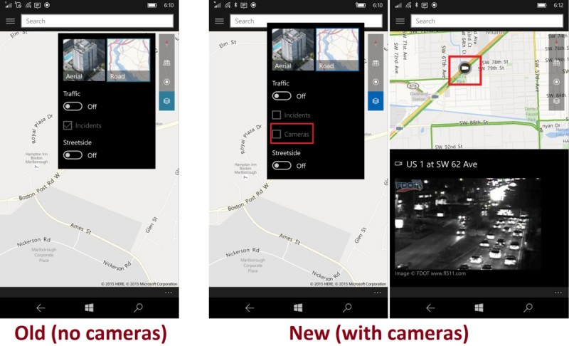 Pantang Nyasar: Windows Map di Update Dengan Fitur Baru Line Guidance dan Traffic Camera