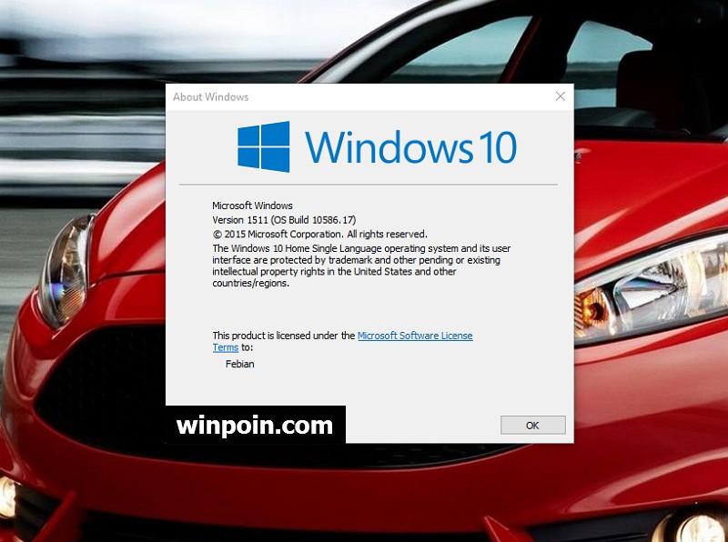 Microsoft Merilis Kumulatif Update KB3116908 untuk Windows 10