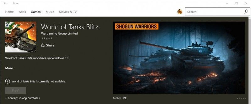 Game Tempur Seru World of Tanks Blitz Muncul di Windows Store, Siap Hadir ke Windows 10 & Windows 10 Mobile