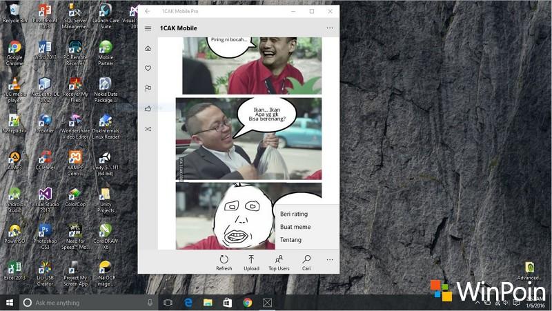 1CAK Mobile Pro Universal Apps Segera Dirilis dan Membawa Support Bahasa Indonesia ke Cortana