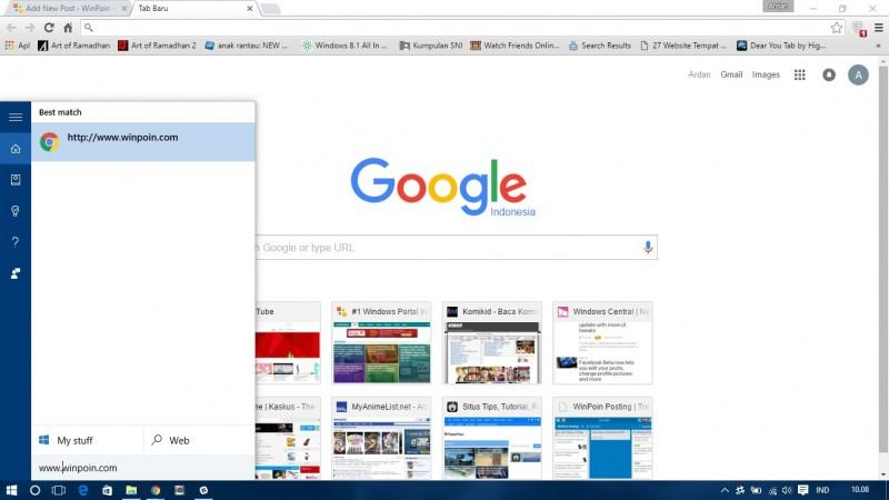 Cortana feat google