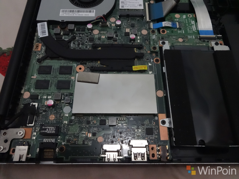 Cara Upgrade RAM di Asus Transformer Book Flip TP500L