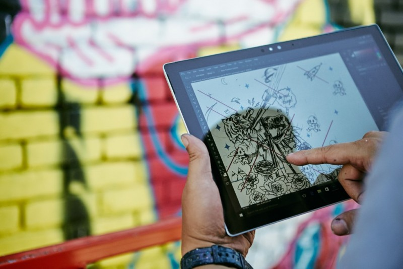 Design on Surface 2