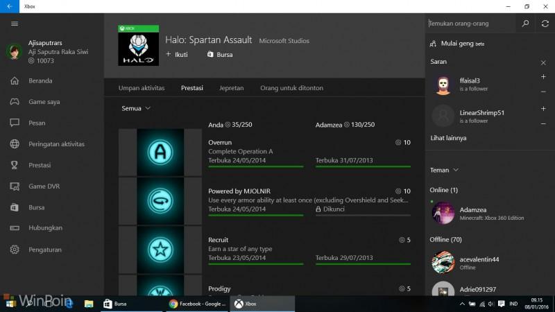 Tips Bermain Game Xbox Live