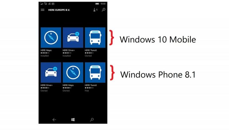 Pastikan Kamu Menggunakan Aplikasi HERE Yang Benar Untuk Windows 10 Mobile