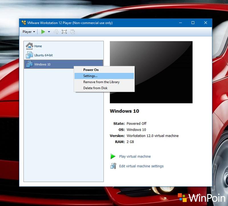 Cara Share Folder di VMware Virtual Machine