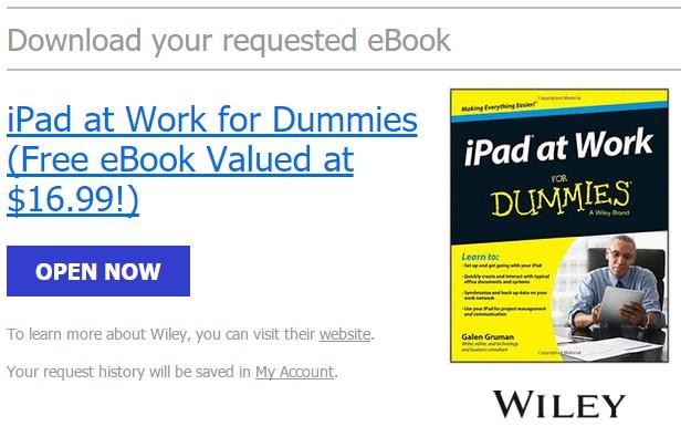 Download Ebook Premium: iPad for Dummies (+Tips Office 365) Senilai 237 ribu, Gratis!