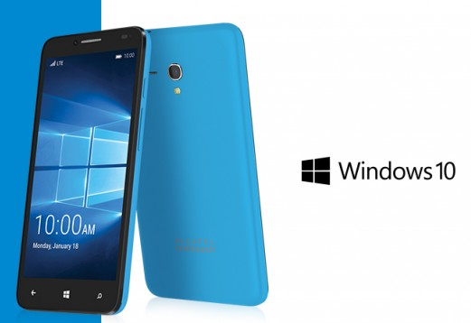 Idol Pro 4 Device Flagship Windows 10 Mobile Dari Alcatel