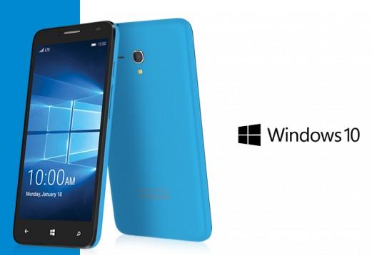 Idol Pro 4 Device Flagship Windows 10 Mobile Dari Alcatel