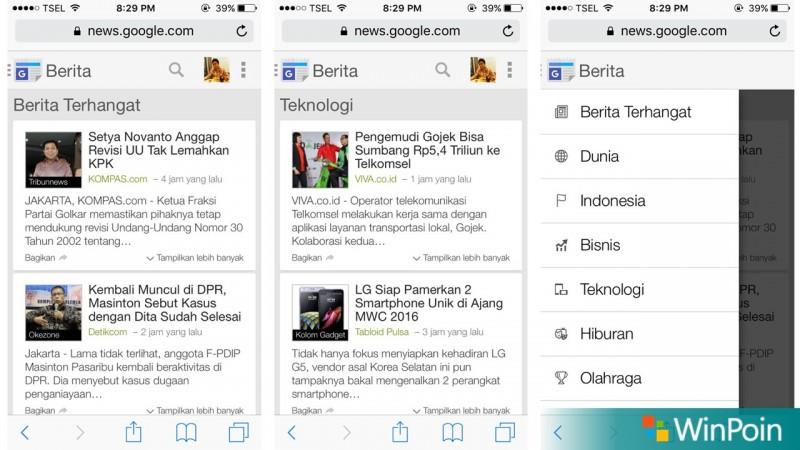 Google News iOS
