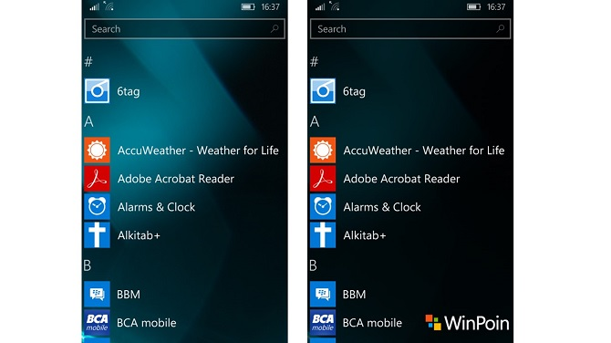 Review Windows 10 Mobile 10586.107-5
