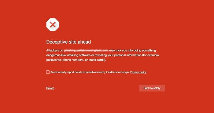 Tombol Download Palsu-Google Safe Browsing