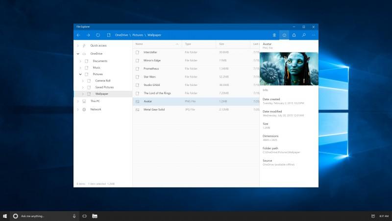 Bagaimana Jika File Explorer Windows 10 Disulap Jadi Modern Seperti Ini