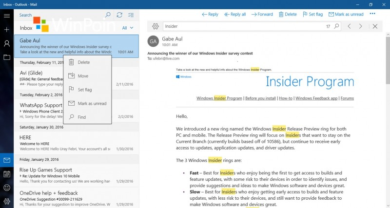 find-mail-windows10
