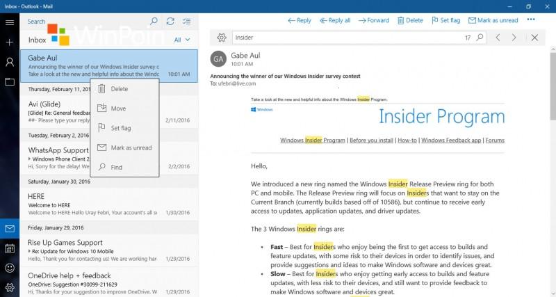 find-mail-windows10