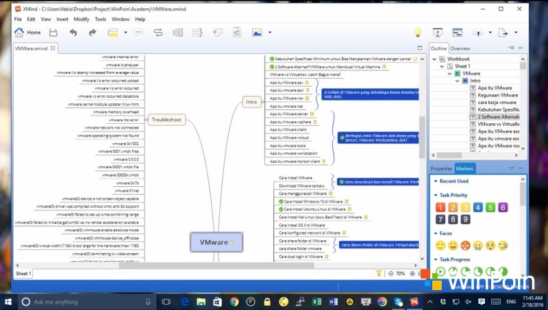 Mudahnya Membuat Mind Map di Windows dengan XMind