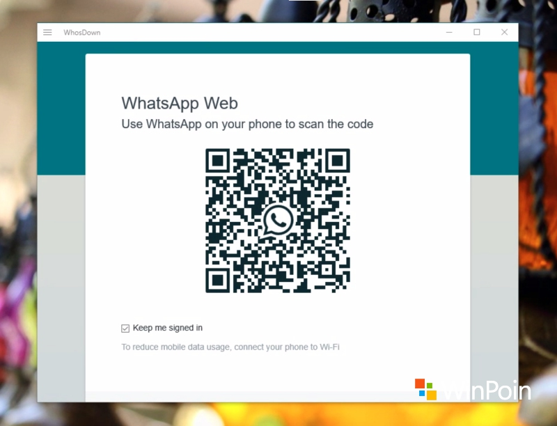 WhatsApp-an di Windows 10 PC dengan WhosDown (Review)