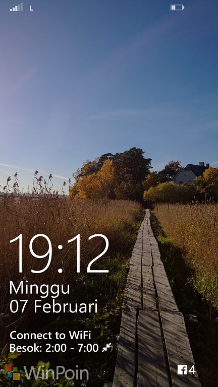 Mengoptimalkan Lockscreen di Windows Phone