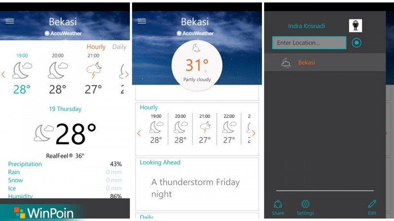 AccuWeather Windows 10-1