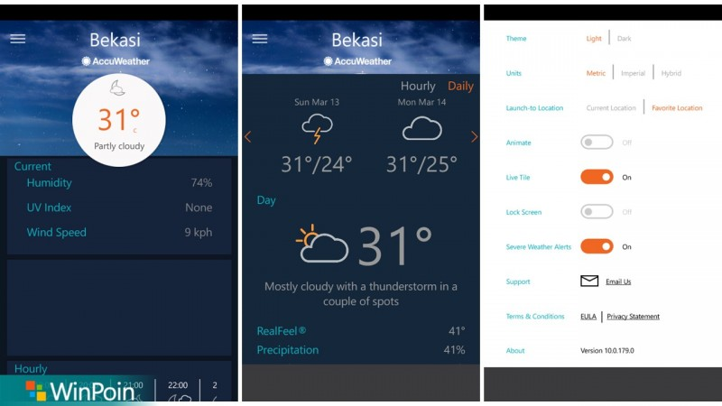 AccuWeather Windows 10-2