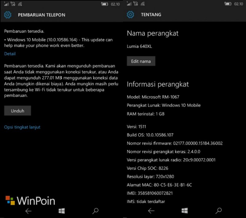 Review Windows 10 Mobile Final
