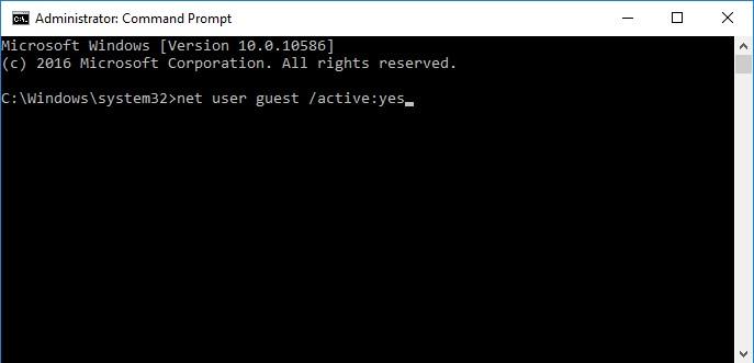 Cara Mengaktifkan Akun Guest di Windows 10