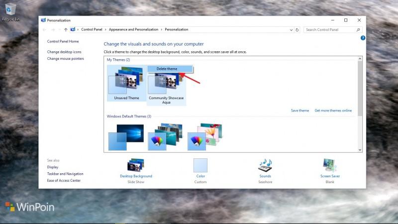 Cara Menginstal dan Menghapus Tema di Windows 10