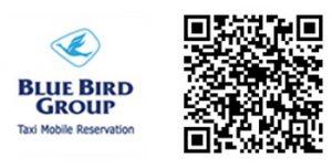QR Blue Bird