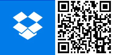 QR Dropbox Windows 10 Mobile