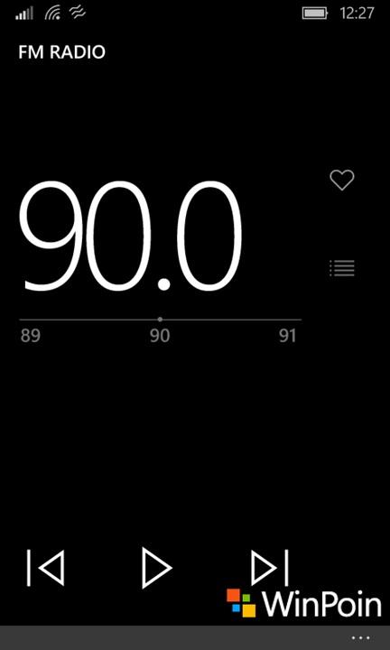 Radio FM Windows 10 Mobile