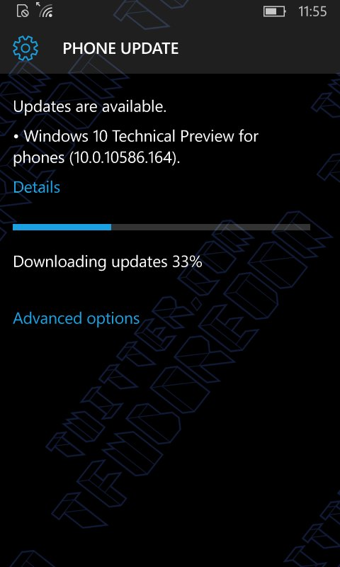 Windows 10 Mobile Build 10586.164 Rumor
