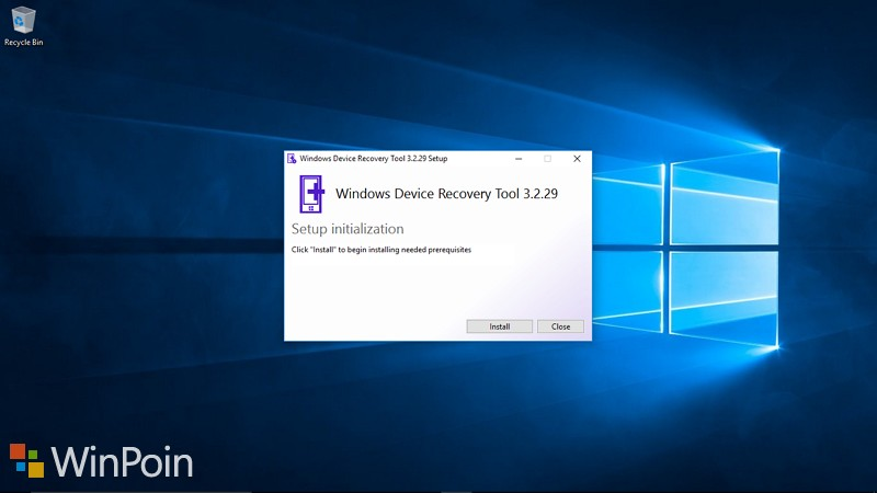 Windows Device Recovery Tool Mendapat Update Minor
