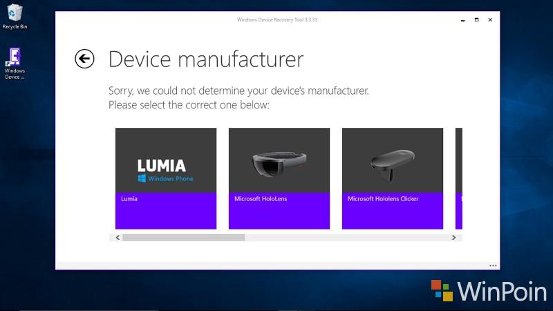 Windows Device Recovery Tool (WDRT) Mendapat Update, Kini Mendukung HoloLens dan Clicker